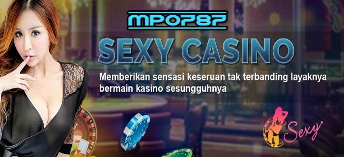 Bandar Judi Baccarat Sexy Casino Termurah Terpercaya MPO787